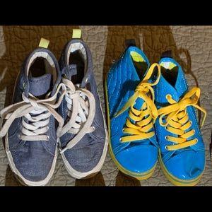 [Size 11] V/GUC Lot of 2 Hi-top Sneakers.